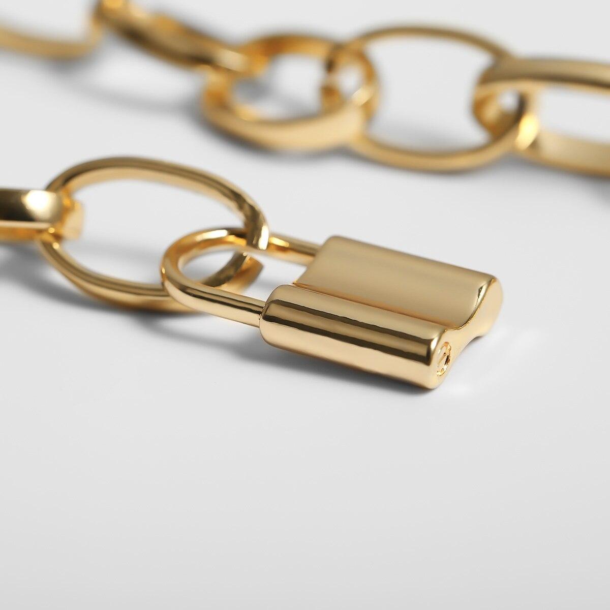 Ingemark, многослойная подвеска с замком для влюбленных, колье, ожерелье с замком в стиле стимпанк, цепочка с сердцем, колье, лучшее ювелирное изделие для пары, подарок