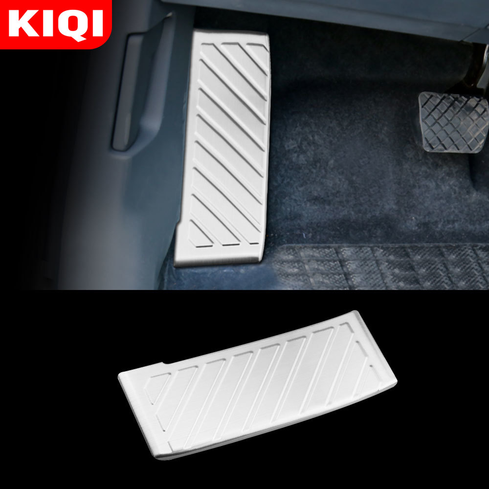 Stainless Steel Car Pedal for <font><b>VW</b></font> <font><b>GOLF</b></font> <font><b>7</b></font> <font><b>GTi</b></font> MK7 Lamando Polo A05 Passat B8 Skoda Rapid Octavia 5E 5F A7 2014-2019 Accessories image