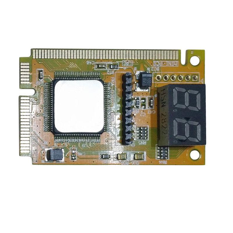 2-Digit Portable Computer PC Mini PCI PCI-E LPC Laptop Analyzer Tester Mother Board Debug Checker Diagnostic Card 2