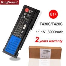 Kingsener แบตเตอรี่แล็ปท็อปสำหรับ Lenovo ThinkPad T430S T420S T420si T430si 45N1039 45N1038 45N1036 42T4846 42T4847 รับประกัน 2 ปี
