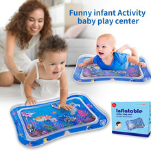 Pat-Pads Playmat Tummy-Time Baby Infant for Fun Water-Cushion Safe Ice Early-Education