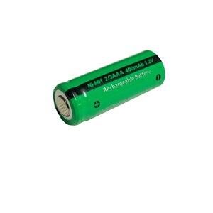 Image 5 - 50 adet PKCELL 2/3 AAA pil 400mAh 1.2V 2/3AAA NI MH şarj edilebilir pil NiMh 2/3aaa piller endüstriyel düz üst toptan
