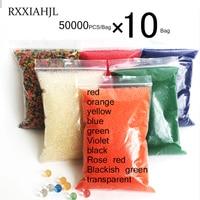 500000 PCS/Bag orbiz Hydrogel Pearl Shaped Crystal Soil Water Beads Gel Ball For Flower/Weeding Mud Growing Magic Jelly Balls