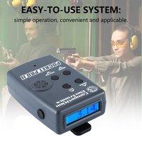 1 Set Shooting Voice Control Timer Ipsc Game Voice Control Stopwatch Shooting Timer Speed Measures Sensor Buzzer Beeper