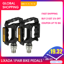 Lixada MTB yol bisikleti bisiklet bisiklet pedallar bisiklet hızlı bırakma pedalları bisiklet bisiklet Platform pedalı pedalı genişletici adaptörü