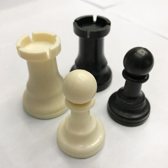 Ensemble d'échecs 32 pièces de 7.7cm, 6