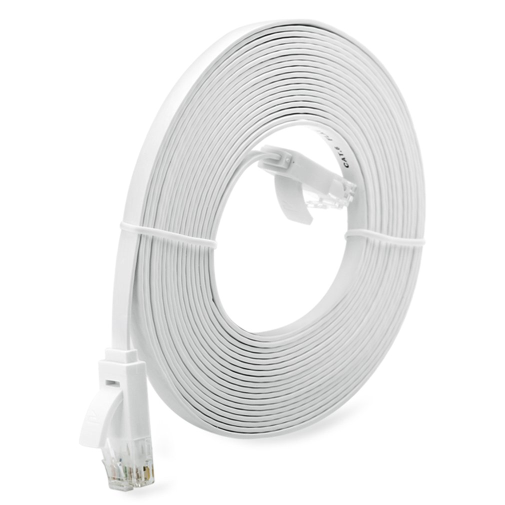 Top Quality Super Long RJ45 Network Cable Super High Speed Flat Type Ethernet Network Cable LAN Ethernet Cable