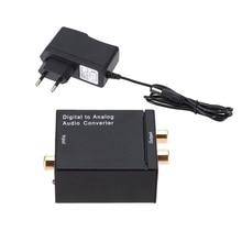 Decoder Dac-Amplifier Analog-Adapter Optical-Fiber Coaxial-Signal Digital R/l-Audio-Converter