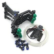 O pulverizador do sistema y do zangão estende o bocal de alta pressão hobbwying 5l 8l blushless tubulação da bomba de água para o zangão agrícola de diy