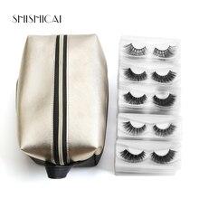 Wholesale Mink Lashes With Bag 50/30 pairs 3d Hair Crisscross Volume False Eyelashes Handmade Eye Extension Makeup