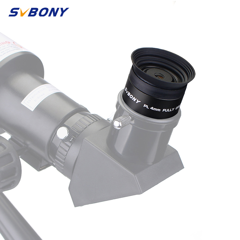 SVBONY 1.25 Eyepiece Lens PLOSSL 4mm HD Full Coated for Telescope Monocular Binocular Eyepiece Wholesale F9124A