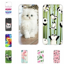 For Apple iPhone 5 5s SE Case Soft TPU Silicone For Apple iPhone 6 6s Cover Wildebeest Patterned For iPhone 5 5s SE 6 6s Funda чехол для для мобильных телефонов other apple iphone 5 5 g 5s iphone 5 5s for apple iphone 5 5s 5g