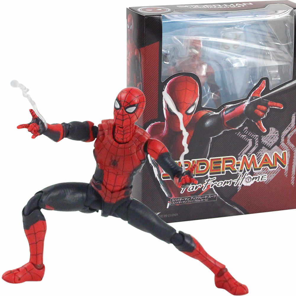 14 Centimetri Spider Man Lontano da Casa Mobile Spiderman Super Hero Figurine Pvc Action Figure Giocattoli