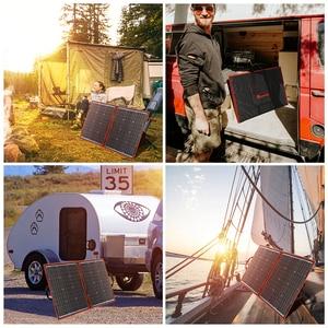 Image 5 - Dokio 100w(50Wx2pcs) Flexible Foldble Mono Solar Panel For Travel & Boat & RV High Quality Portable Solar Panel China