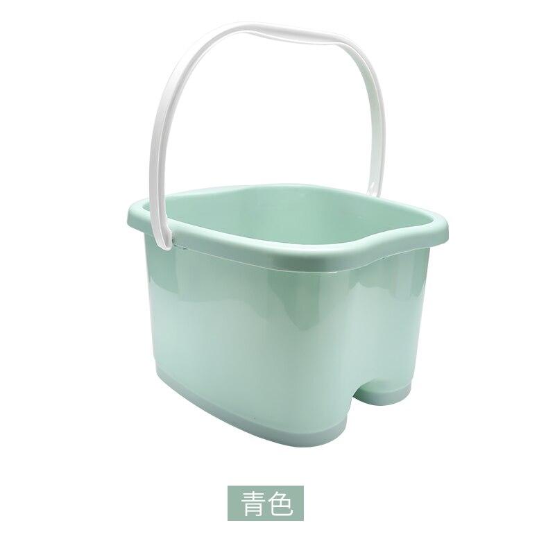 Pied baignoire seau ménage haute température résistant baignoire ménage artefact baignoire en plastique seau de bain