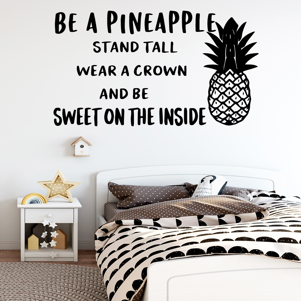 Beauty sentence Pvc Wall Decals Home Decor Bedroom Nursery Decoration For Kids Rooms Diy