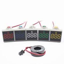 AC 50-500V 0-100A квадратный светодиодный цифровой вольтметр Амперметр 110V 220V Напряжение измеритель тока вольтамметр вольт ампер тестер детектор