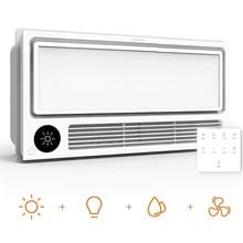 Потолочный светильник Yee light Smarts 8 в 1, нагреватель для ванной комнаты, светильник емый, с вентилятором, быстрая сушка, с голосовым управлением и дистанционным управлением