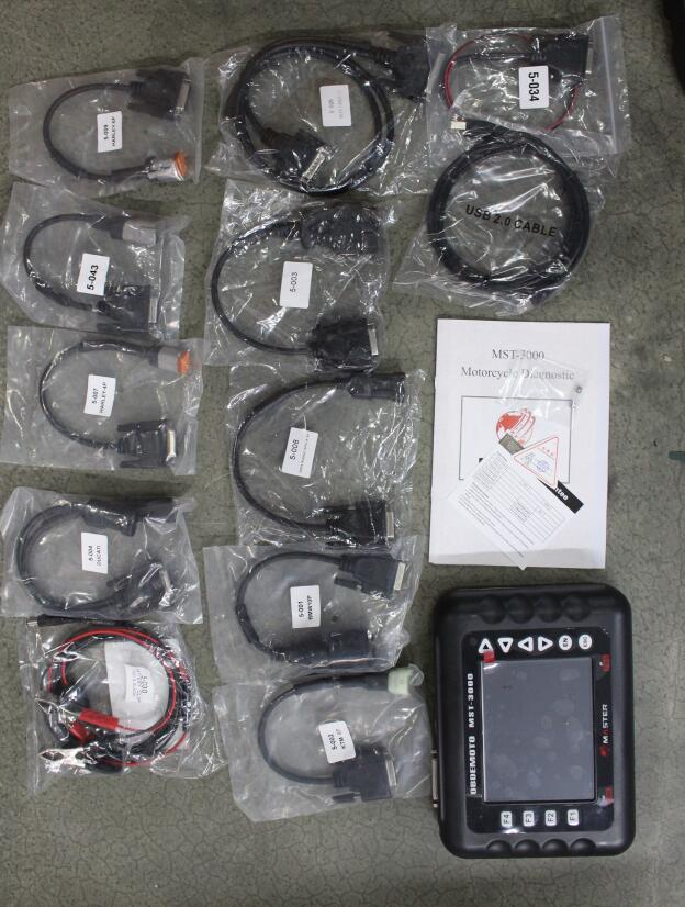 Auto For Multi-brand motorcycles Universal Motorcycle Diagnostic Scanner Fault Code MST-3000 for Heavy Duty