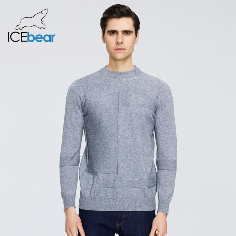 ICEbear 2020 Spring New Male Sweater Casual Men's Pullover Brand Men's Clothing 1809