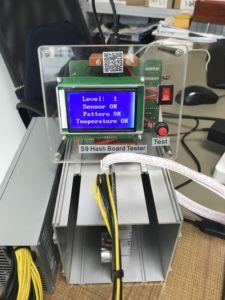 Image 1 - Appareil dessai de mineur de Bitcoin BTC S9 S9i S9j T9 T9 + S9K/S9 SE puce de réparation de testeur de carte de hachage BM1387 BM1387B