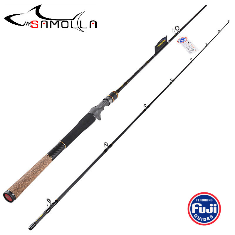 Fishing Rod Spinning Baitasting Rod FUJI Accessories Carbon Lure Casting Fishing Rods Vara De Pesca Olta Canne A Peche Carbonne|Fishing Rods| |  - title=