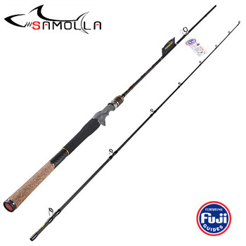 Fishing Rod Spinning Baitasting Rod FUJI Accessories Carbon Lure Casting Fishing Rods Vara De Pesca Olta Canne A Peche Carbonne fishing rod three section 3 3m vara de pesca canne spinning canne a peche carbonne carp peche en mer fly fishing rod ice pesca