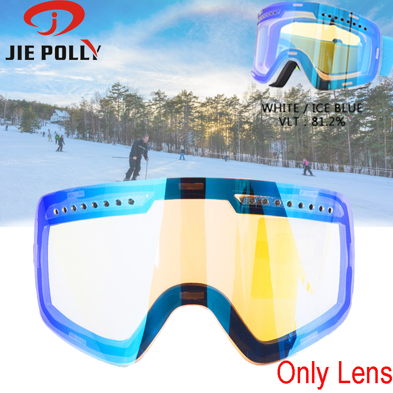 Original Ski Lens Magnetic Dual-use Quick-change For Ski Goggles Anti-fog UV400 Ski Glasses Skiing Lens For Men And Women