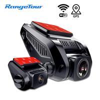 Car DVR 4K 2160P GPS WiFi ADAS Dash Cam Dual Lens 1080P+1080P Vehicle Car Camera Driving Recorder