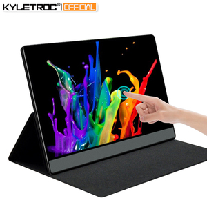 KYLETROC 14inch 1080P/Touch Portable Gaming Monitor NTSC 72% 1920x1080P HDR 300cd Brightness IPS FHD Portable Screen Monitor(China)
