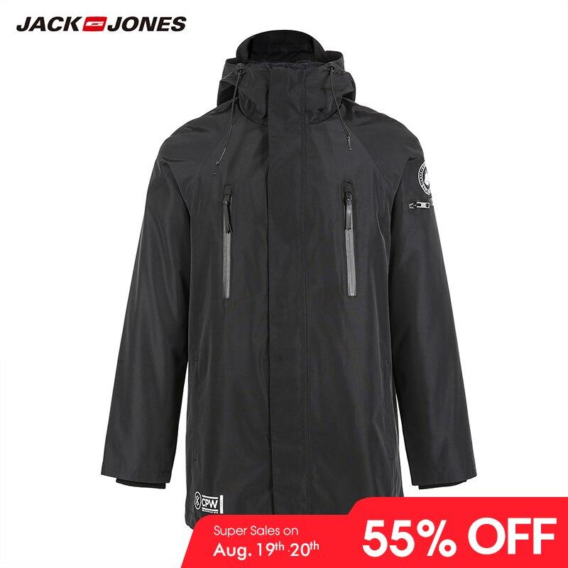 Coat Parka Long-Jacket Menswear Warm Winter Hooded Men's Luxury 218309510 3-In-1
