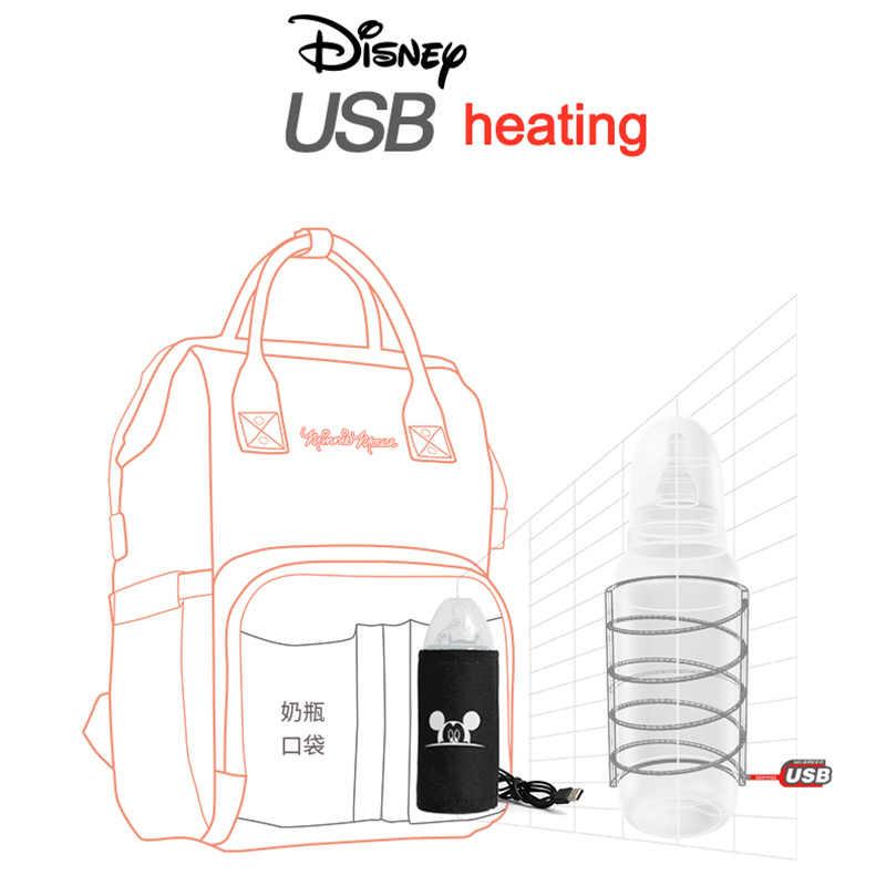 Disney Mommy torby na pieluchy matka o dużej pojemności podróże plecaki na pieluchy anti-loss zipper Baby Nursing Disney torby dropshipping