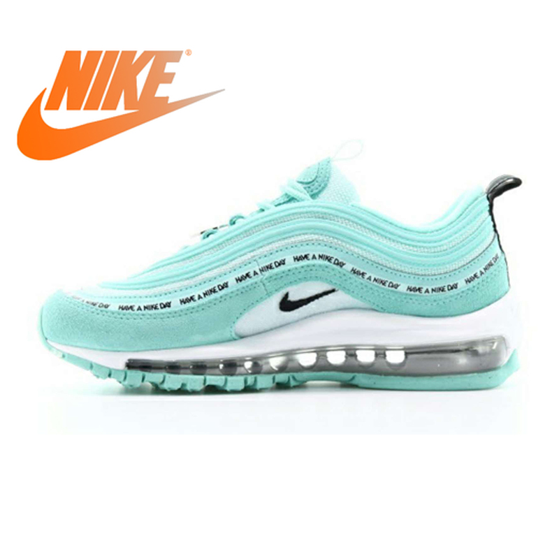Original Nike Air Max 97 Women's Running Shoes Sports Outdoor Sneakers Shock Absorbing Good Quality 2019 New Arrival AV3181-500