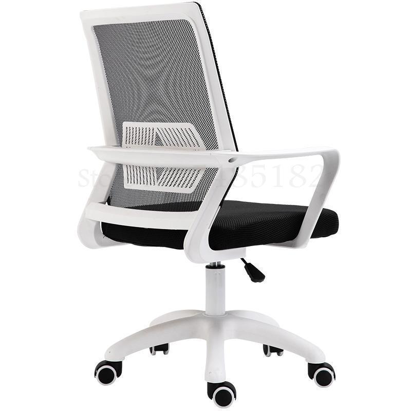 Computer Chair Home Office Chair Staff Chair Conference Stool Student Dormitory Rotary Lifting Simple Lazy Back Chair