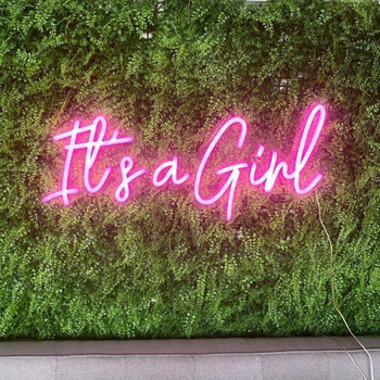 It's A Girl Neon Sign