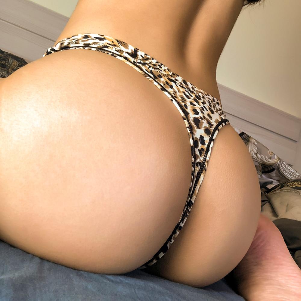 3 Teile/los frauen Unterwäsche Sexy Sport Höschen Hohe Elastizität Nylon Thongs Leopard Spotted Zebra Eis Seide Spurlose T-zurück