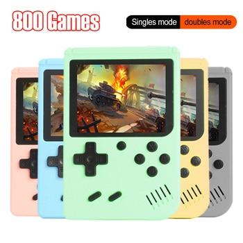 800 в 1 Ретро видео игровая консоль 3,0 дюймов портативный игровой плеер Портативный мини карманный геймпад 800 классические игры для детей подарок