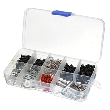 270 in 1 Set Screws Box Repair Tool Kit For 1/10 HSP RC Car DIY Accessories Cars Box Assortment Styling Model Part