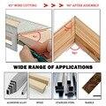 1 шт. многофункциональная плотницкая квадратная угловая линейка 45/90 градусов измерительный инструмент для столярных работ