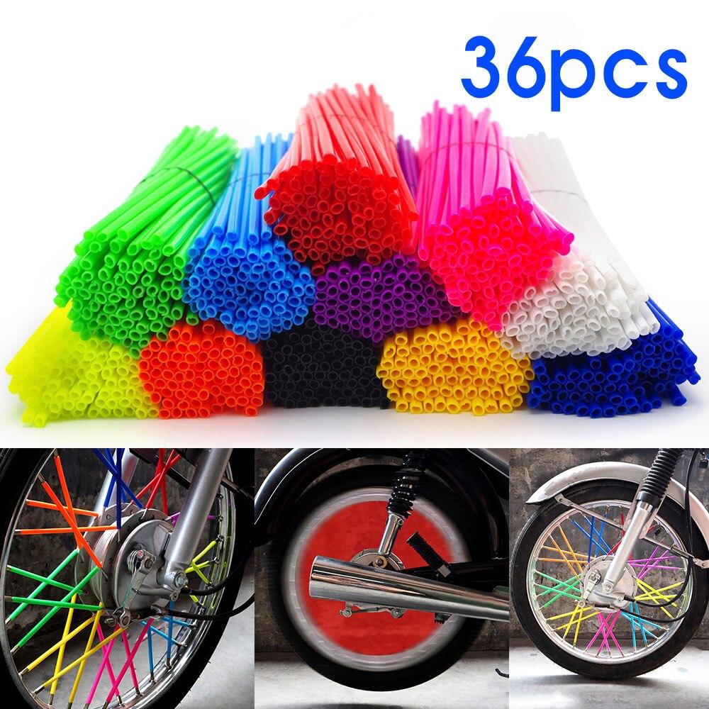 Motorcycle Wheel Spoke Rims Covers Weel Wraps Procetor Accessories For yamaha xt1200z super tenere fz6n wr250f mt07 mt 15 mt 10