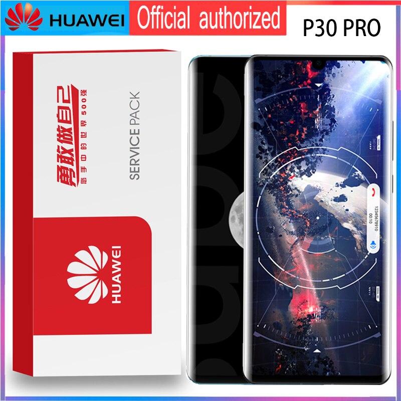 """Dorigine 6.47 """"avec cadre De Remplacement pour Huawei P30 Pro Dassemblée de convertisseur analogique Numérique Décran Tactile daffichage à cristaux liquides de VOG L29 VOG L09 VOG L04Écrans LCD téléphone portable   -"""
