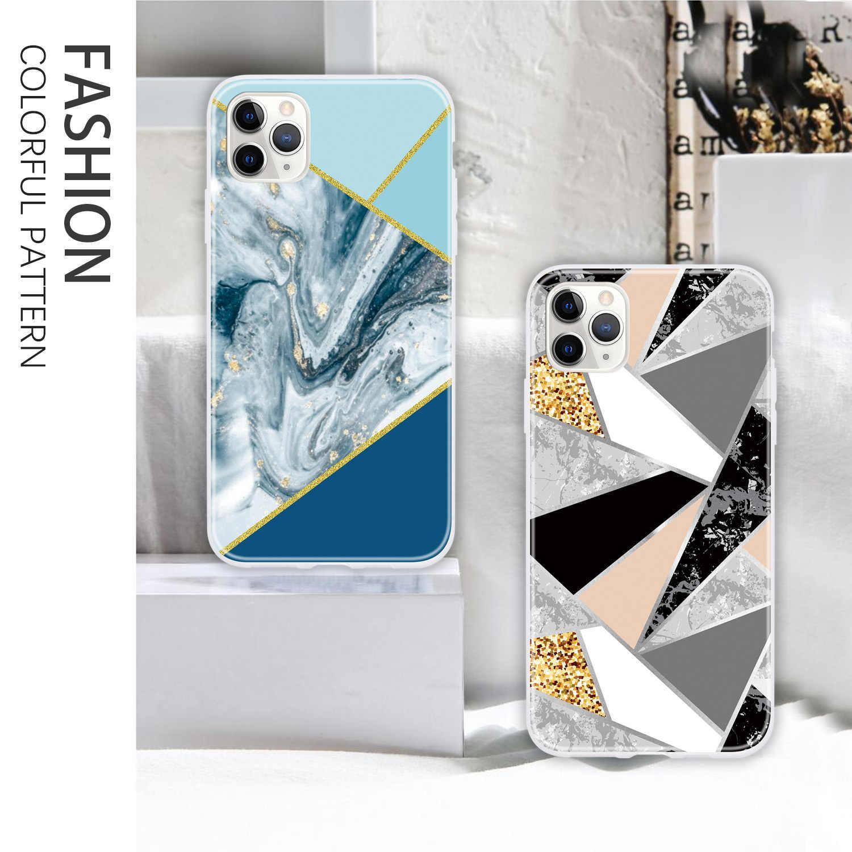حافظات من البولي يوريثان اللين الملون لهاتف iPhone X من carcaso لهواتف Apple iPhone estojo XS 8 Plus 11 Pro Max 7 R 6S 6 xS حافظات من البولي يوريثان اللين تحمي