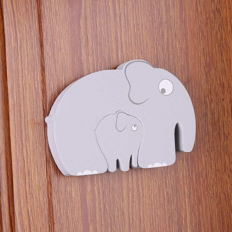 3 Pcs Children Cartoon Door Stopper Thickening Baby Anti-pinch Items Kids Protective Equipment Security Doors Card D08C