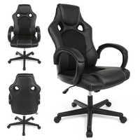 1Pc Confortável Elevador Ajustável Escritório Cadeira Patrão Cadeira Do Computador Ergonômico Casa Casa de Couro Reclináveis Cadeiras Executivas HWC