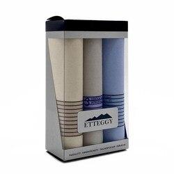Etteggy boîte-cadeau mouchoirs pour hommes