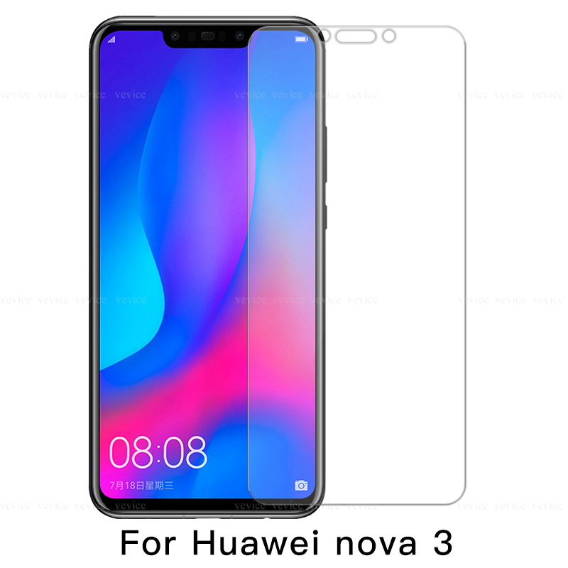 Protective Anti-Shock Screen Protectors For Huawei Y7 Y6 Y5 2018 Nova 2i 3i 5i HD Film For Huawei Y5 Y6 Y7 Y9 2019 Nova 3 5 3e