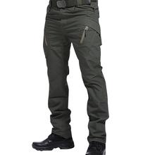 IX9 mężczyźni Militar Tactical Cargo spodnie sportowe walka Swat szkolenie wojskowe spodnie wojskowe spodnie sportowe do polowania na wędrówki tanie tanio Cargo pants Plisowana Poliester REGULAR hiking trousers men W stylu Safari Midweight Pełnej długości Zipper fly