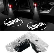 2pcs/lot Logo Projector Light Car Door Light For BMW E39 E53 X5 528i Z8 E52 E39 Accessories Shadow LED Door Courtesy Light стоимость