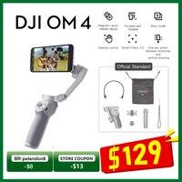 DJI OM4 OSMO Mobile 4 3-Achsen Faltbare Handheld Gimbal Stabilisator Selfie Stativ Verlängerung Stange Pole für SmartPhone Magnetische design