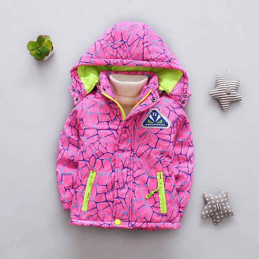 Zimowe kurtki z polaru dla chłopców ładny różowy dla dzieci dziewczyny płaszcz Outdoor Sport z kapturem aksamitna kurtka dla dziewczynek nowa wiosna płaszcz dziecięcy